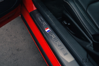 2016 Chevrolet Camaro SS door sill badge