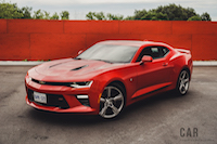 2016 Chevrolet Camaro SS red 2ss