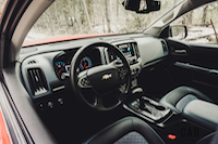 2016 colorado interior