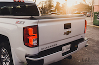 2016 Chevrolet Silverado Z71 rear bed liner
