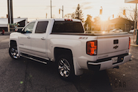 2016 Chevrolet Silverado Z71 package white