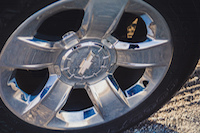 2016 Chevrolet Silverado Z71 chrome wheels