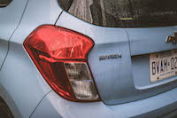 chevrolet spark taillights