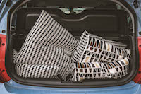 chevrolet spark storage space
