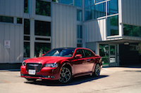 2016 Chrysler 300S red hot paint