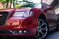 2016 Chrysler 300S headlights front