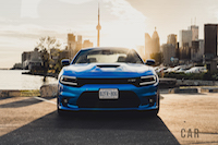 2016 Dodge Charger SRT 392 front view hellcat