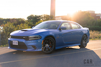 2016 Dodge Charger SRT 392 front quarter