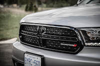 2016 Dodge Durango SXT AWD blacked out front grill