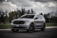 2016 Dodge Durango SXT AWD blacktop package blacked out
