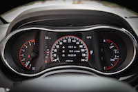2016 Dodge Durango SXT AWD gauges