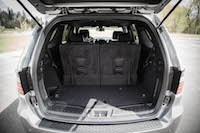 2016 Dodge Durango SXT AWD trunk space