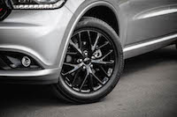 2016 Dodge Durango SXT AWD blacked out wheels