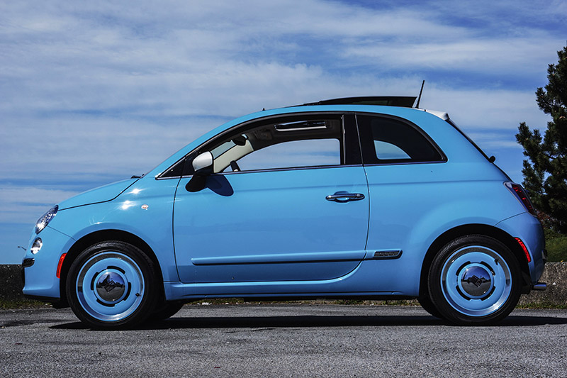 2016 Fiat 500 1957 Edition Manual review canada