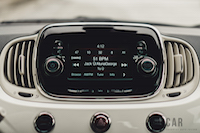 Fiat 500 1957 Edition infotainment display