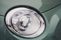 Fiat 500 1957 Edition headlights
