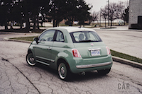 Fiat 500 1957 Edition green