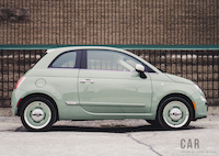 Fiat 500 1957 Edition side shot