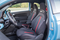 2016 Fiat 500 Abarth Manual front seats