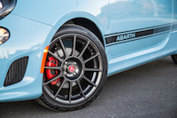 2016 Fiat 500 Abarth Manual hyper black wheels