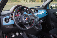 2016 Fiat 500 Abarth Manual interior