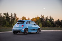 2016 Fiat 500 Abarth Manual rear view moon