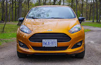 2016 Ford Fiesta SE electric spice yellow