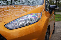 2016 Ford Fiesta SE headlights