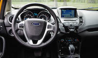 2016 Ford Fiesta SE interior automatic