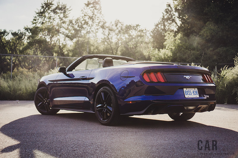2016 Ford Mustang EcoBoost Convertible canada review new used for sale
