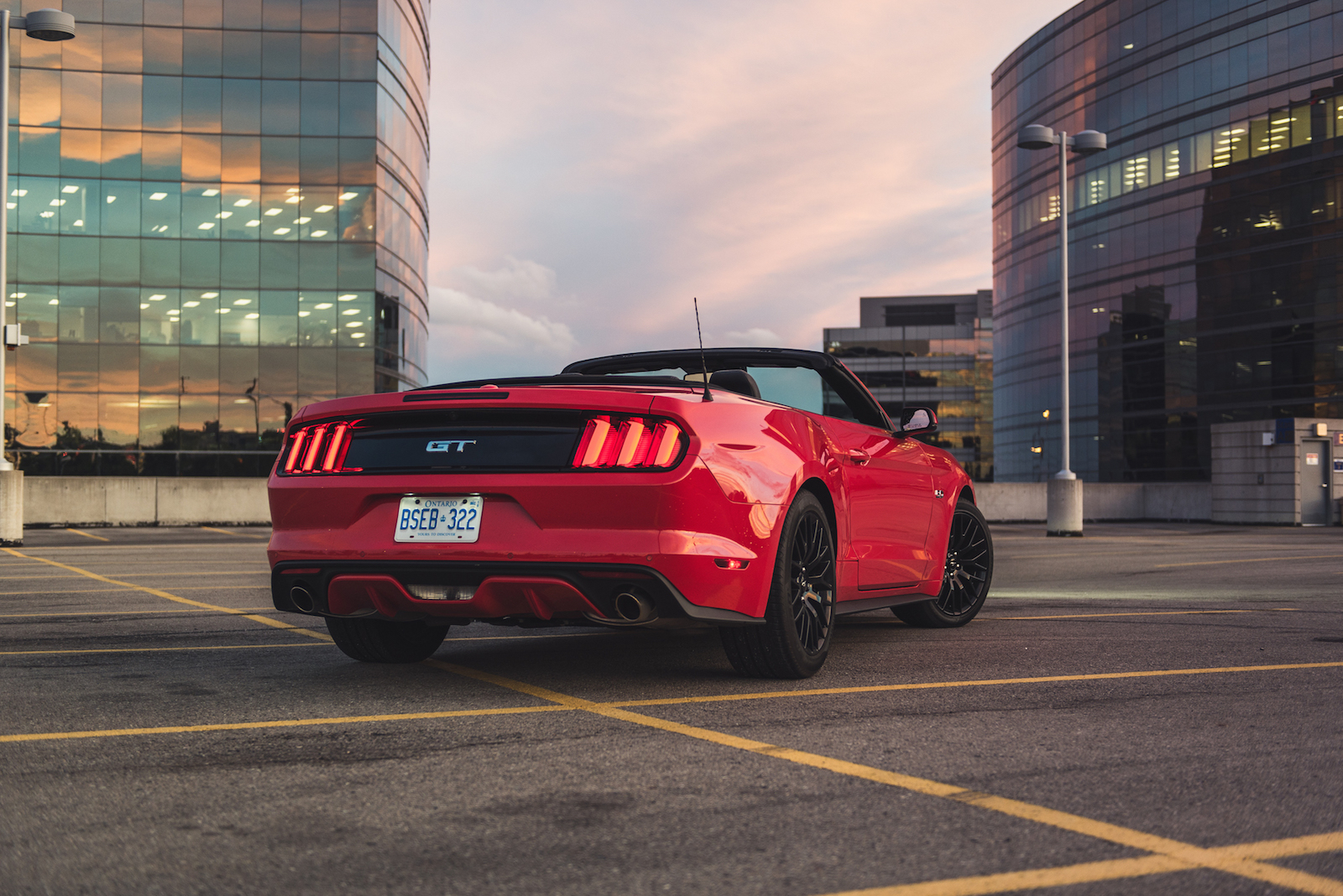 mustang ford convertible gt paint