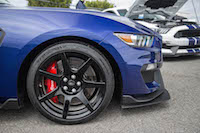 2016 Ford Shelby GT350R carbon fibre wheels