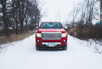 gmc canyon diesel front