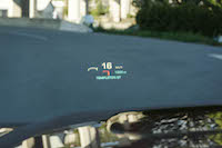 2016 GMC Yukon Denali head up display