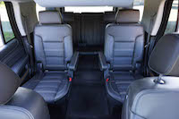 2016 GMC Yukon Denali back seats