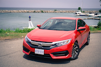 2016 Honda Civic Coupe LX by the water niagara