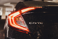 2016 civic taillights