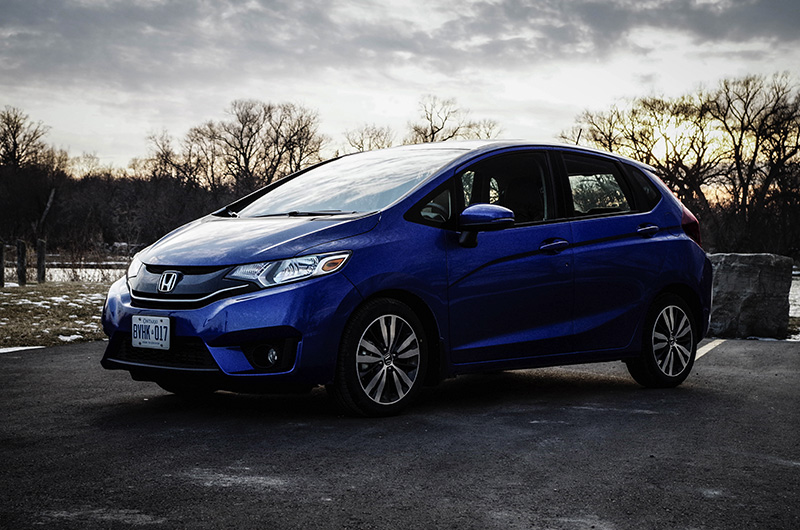 honda fit ex-l navi review