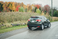 honda hr-v green