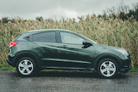 honda hr-v side wheels