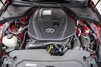 2016 Infiniti Q50 2.0t engine four cylinder