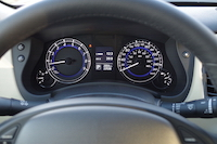 2016 infiniti qx50 gauges