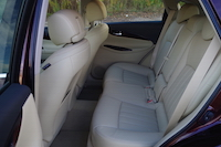 2016 infiniti qx50 rear seats