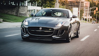 jaguar f-type rolling shot