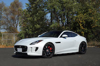 f-type s awd coupe red calipers