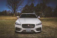 new jaguar xf white
