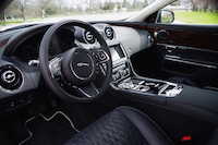 2016 Jaguar XJL Portfolio AWD black interior