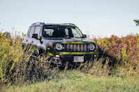 Jeep Renegade 75th Anniversary Edition off-road