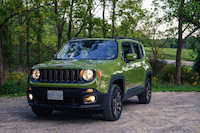 Jeep Renegade 75th Anniversary Edition front quarter view