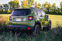 Jeep Renegade 75th Anniversary Edition jungle green paint